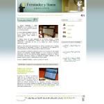 Diseño web multidioma en Palencia – Fernandez y Simón Abogados