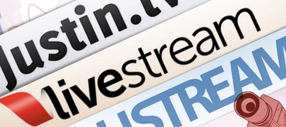 Streaming de vídeo: comparando el API de ustream livestream y justintv