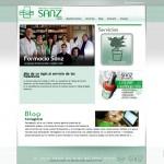 Diseño de paginas web en Palencia – Farmacia Sanz