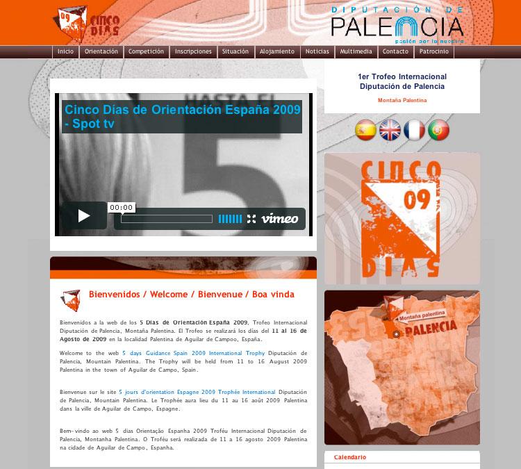 Diseño web multilingue en Castilla y León