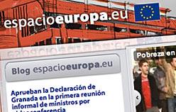 www.espacioeuropa.eu Diseño de paginas web en Madrid