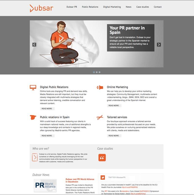 Dise o de paginas web en madrid intercastilla for Empresas diseno grafico madrid