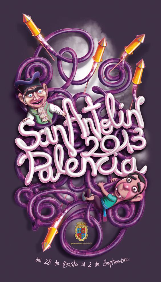 Cartel fiestas San Antolín 2013
