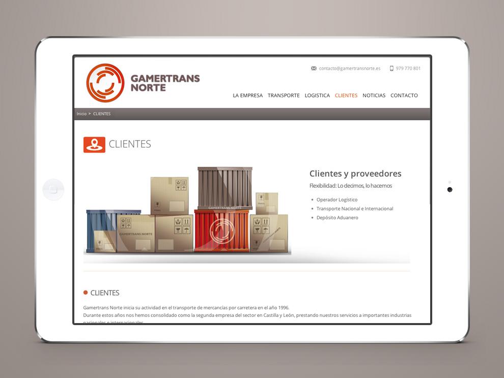 página web empresa palencia intercastilla diseño y comunicación