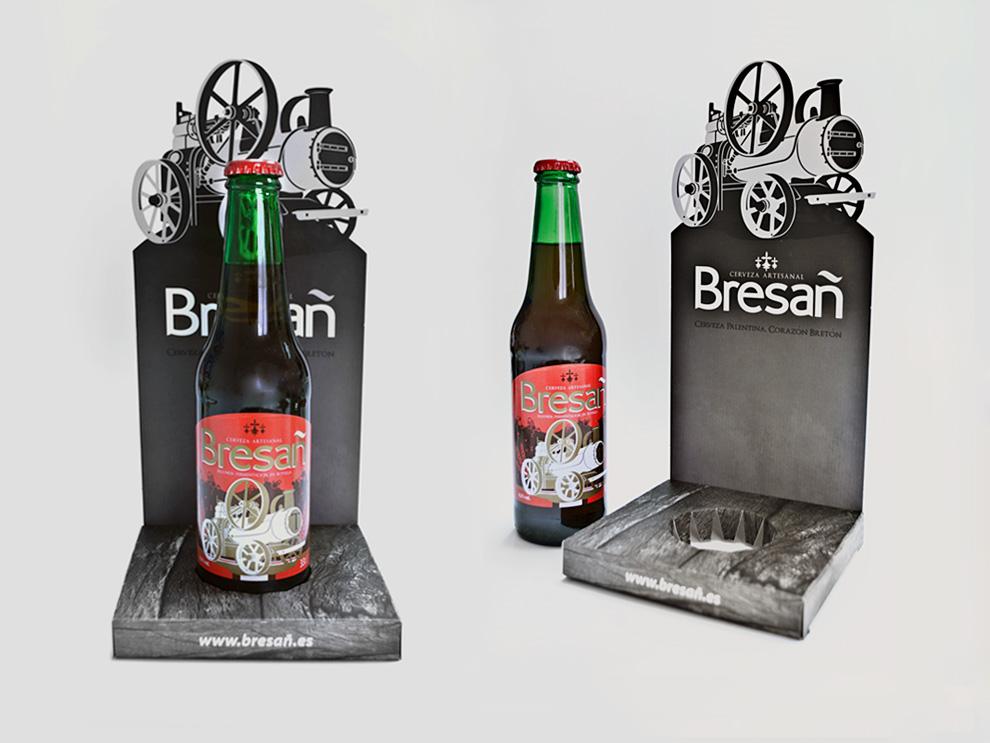 Diseño de etiquetas y packaging Bresañ