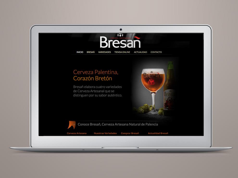 Diseño web Castilla y León: Bresañ tienda online