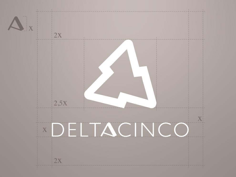 Rediseño de logotipo deltacinco