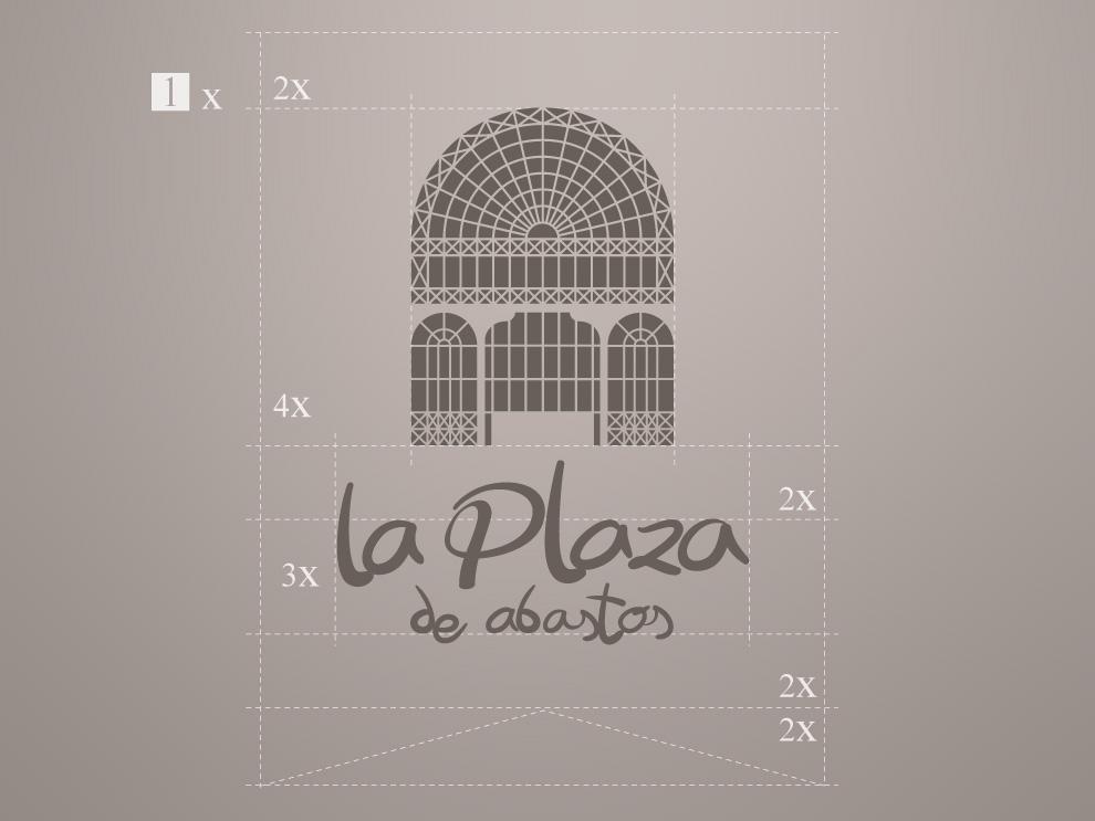 Diseño logotipo Plaza de Abastos de Palencia