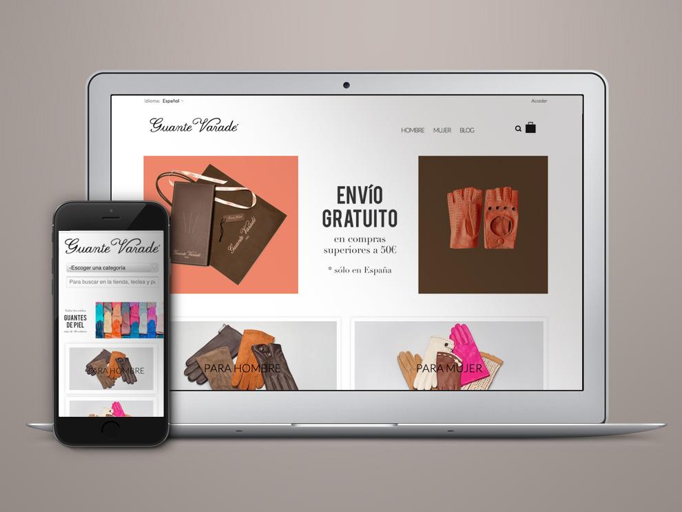 Diseño tienda online Madrid