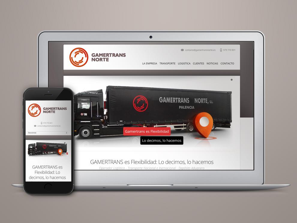 Página web empresa Palencia