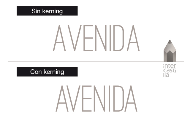"""Kerning"" lo será tu madre"