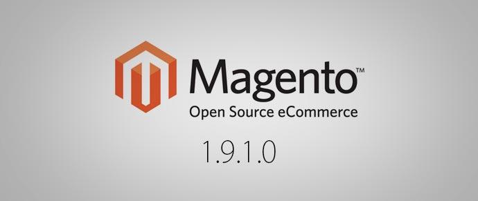 Novedades en Magento CE 1.9.1.0