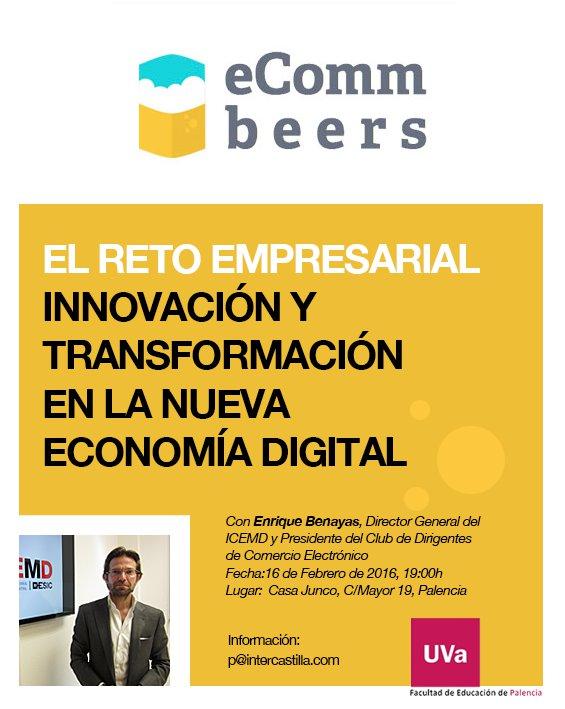 V eCommbeers Palencia con Enrique Benayas