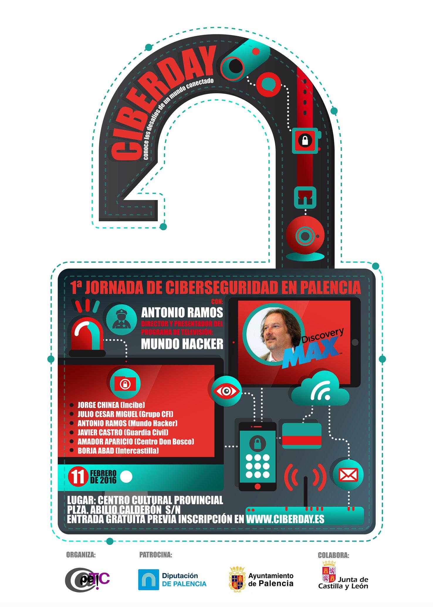 Llega el Ciberday a Palencia, interesante jornada sobre Ciberseguridad