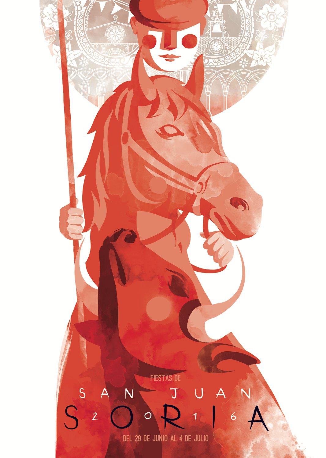 Concurso de carteles de San Juan de Soria 2016