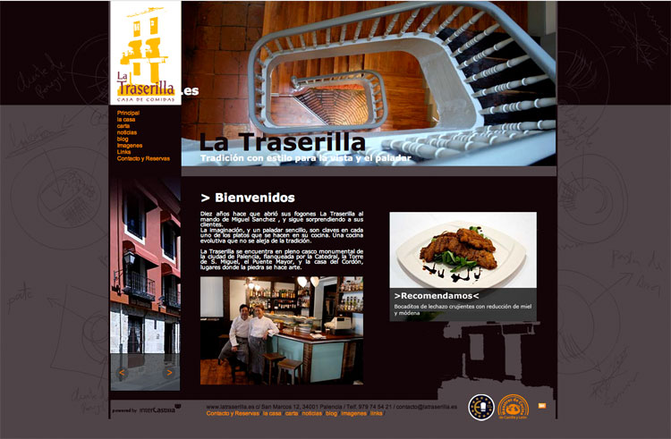 Diseño web en Palencia – La Traserilla