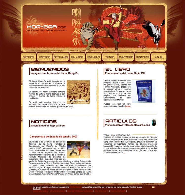 Diseño web Valladolid – hop gar