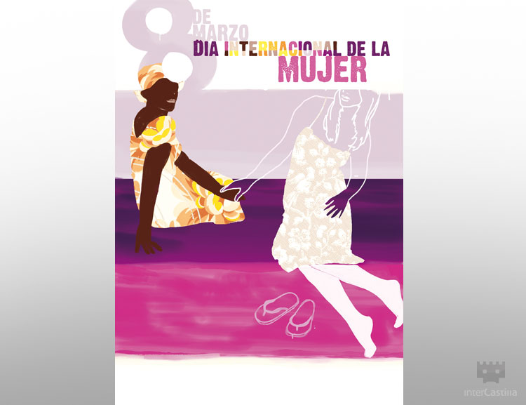 Diseño Valladolid: Ilustración Día Internacional de la mujer