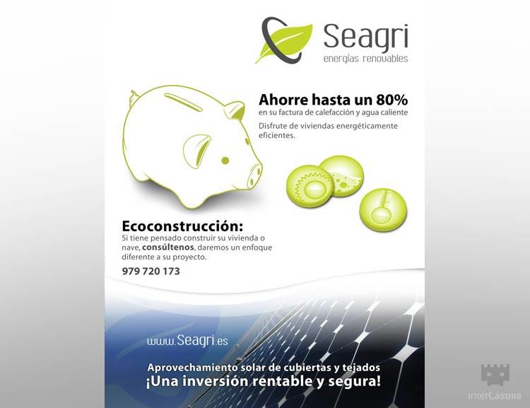 Diseño Gráfico Publicitario en Castilla y León – Anuncio de Seagri en Prensa