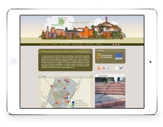 empresa diseño paginas web palencia