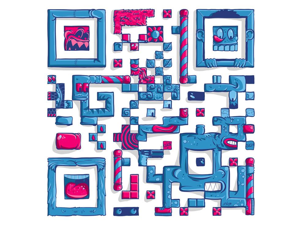 Ilustracion codigo qr intercastilla