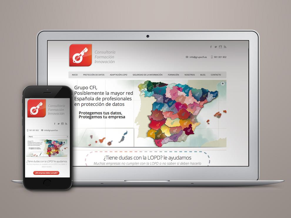 Diseño web Protección de Datos