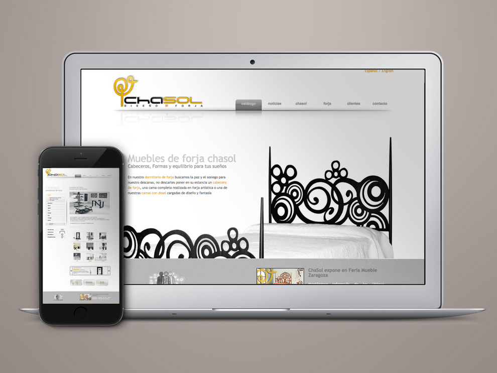 Empresa diseño forja web Valladolid