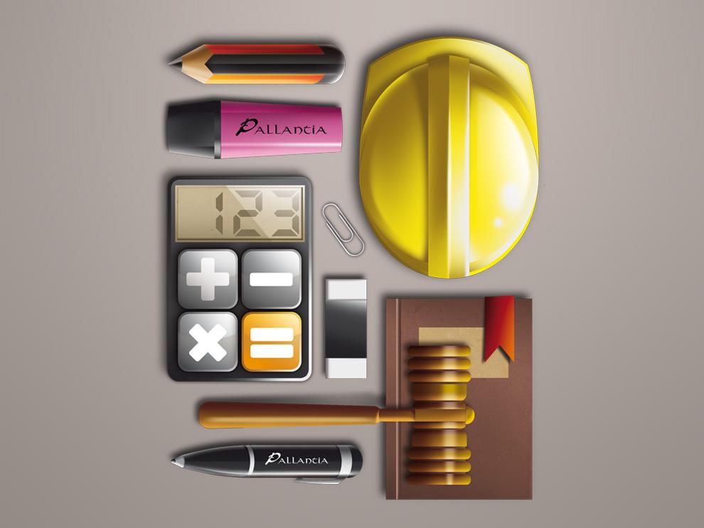 Ilustración para empresa Pallantia
