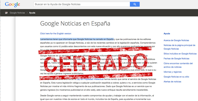 Cómo seguir usando google news desde España (o casi)