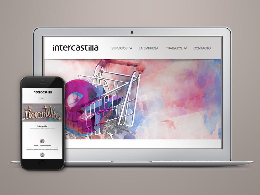Nueva web de Intercastilla