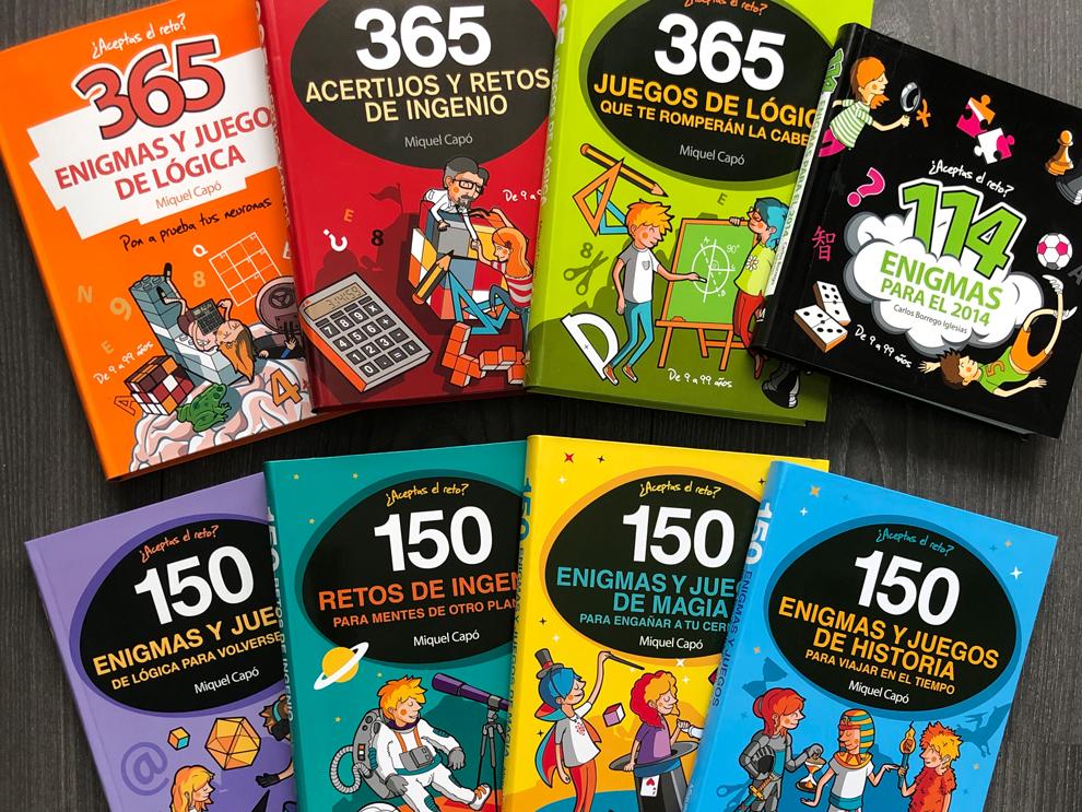 Diseño e ilustración de libros de enigmas